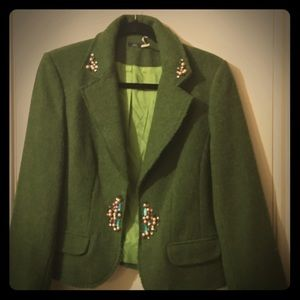Jackets & Blazers - Vintage  green  blazer